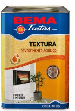 TEXTURA ACRILICA 18L NATURAL ECO BRANCO - BEMATEX