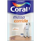 MASSA CORRIDA PVA - CORAL