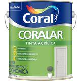 TINTA ACRÍLICA VINIL - CORALAR