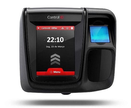 Controle de Acesso iDFlex Pro Bio RFID Mifare Online