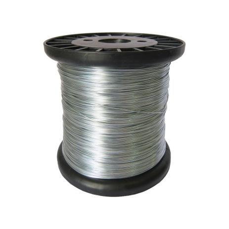 Rolo Fio Inox Cerca Elétrica 0.45mm 500g 350m