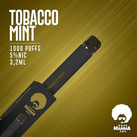Pod descartável Puff Mamma - Pro - 1000 Puffs - Tobacco Mint