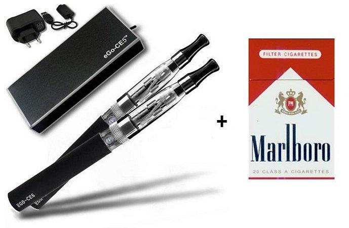 Combo Cigarro Eletrônico CE5 + LiQua Marlboro 12mg