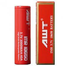 Bateria 18650 Li-Mn Flat Top - AWT®