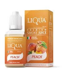 Liquido para cigarro eletrônico LiQua - Peach (Pêssego)