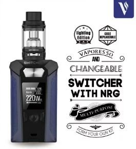Kit Switcher com tanque NRG - LIGHTING EDITION - Vaporesso