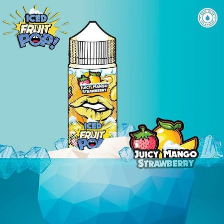Líquido Fruit POP! - ICED Mango Strawberry