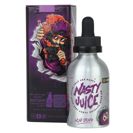 Líquido Nasty Juice - Asap Grape