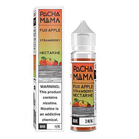 Líquido PachaMama - Fuji Apple Strawberry Nectarine