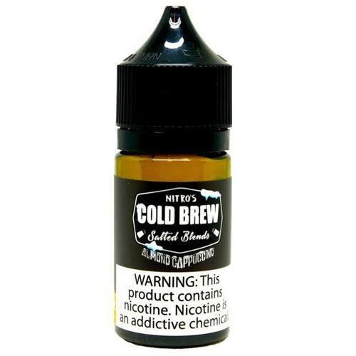 Líquido Salt nicotine Nitro's Cold Brew Salted Blends - Almond Cappuccino