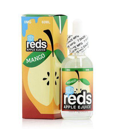 Líquido Salt nicotine 7 Daze Reds Apple E-juice - Apple Mango