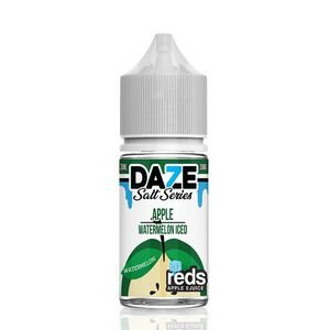 Líquido Salt nicotine 7 Daze Reds Apple E-juice - Apple Watermelon Iced