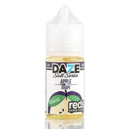 Líquido Salt nicotine 7 Daze Reds Apple E-juice - Apple Grape