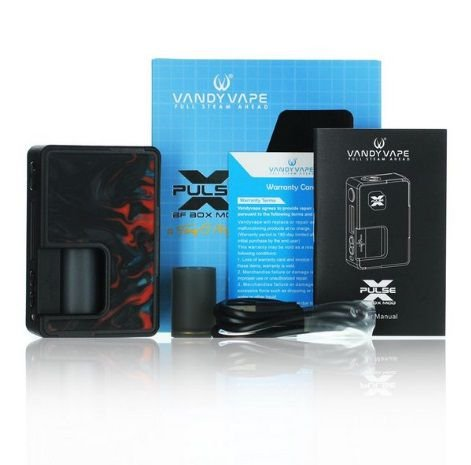 MOD Squonk Pulse X BF Box - Vandy Vape & Tony B