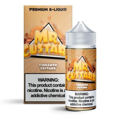 Líquido Mr. Custard - Cinnamon Custard