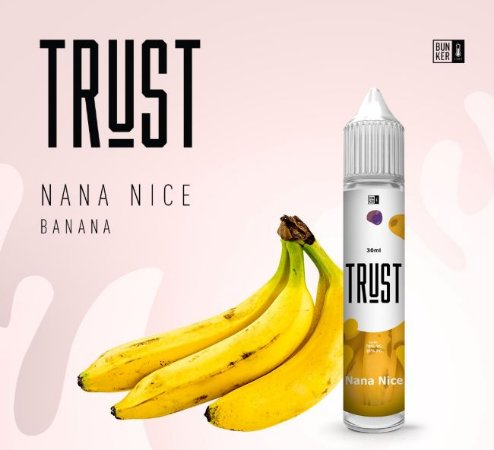 Líquido Trust - Nana Nice - Banana