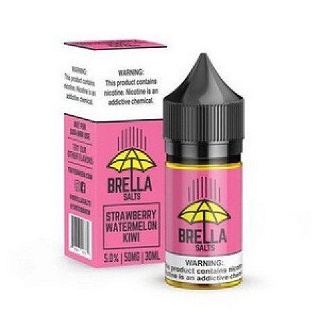Líquido Salt Nicotine - Brella Salt - Strawberry Watermelon Kiwi