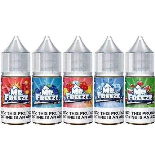 Combo 3 líquidos COM 35 mg ou 50mg SALT NICOTINE - Mr. Freeze