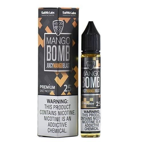 Líquido Salt Nicotine VGOD - Mango Bomb