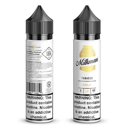 Líquido Milkman (Tobacco) Gold
