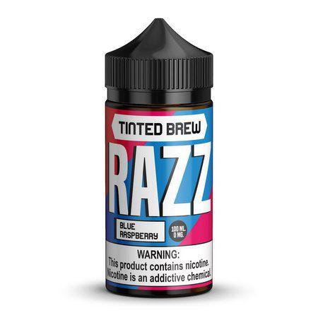 Líquido Tinted Brew RAZZ - Blue Raspberry