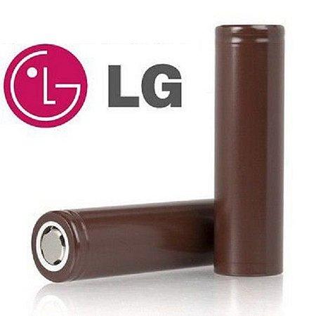 Bateria 18650 HG2 Chocolate 3.7V 3000mAh - LG