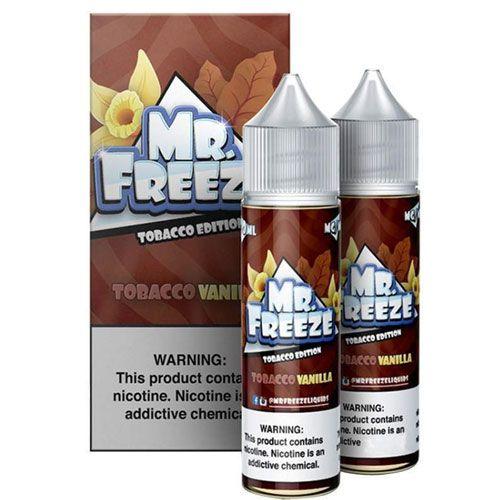 Líquido Mr. Freeze - Tobacco Edition - Tobacco Vanilla