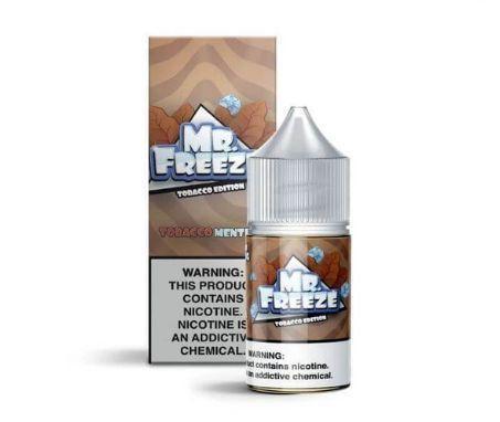 Líquido Salt Nicotine - Mr. Freeze - Tobacco Edition - Cubano Tobacco