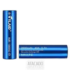 Bateria 18650 2600mAh 40A - Cylaid
