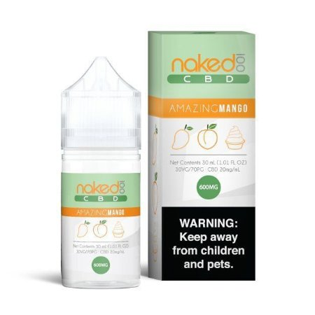 Líquido CBD - Amazing Mango - Naked 100