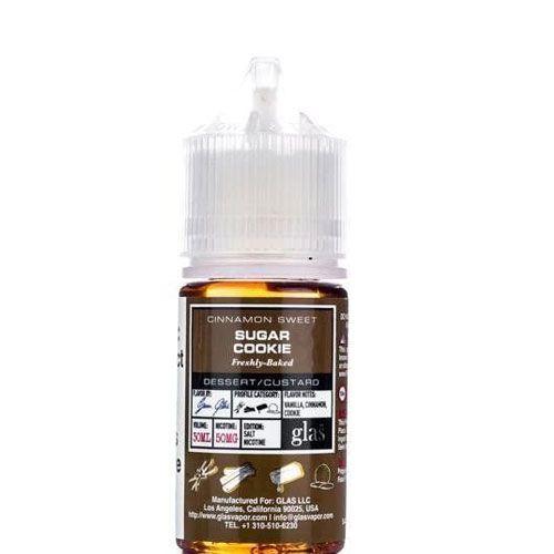 Líquido GLAS salt nicotine - Sugar Cookie