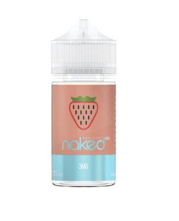 Líquido Naked 100 - Basic Ice - Strawberry