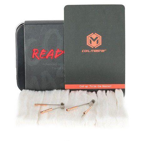 Kit bobinas pré-builds & Algodão - Ready Box - Coil Master