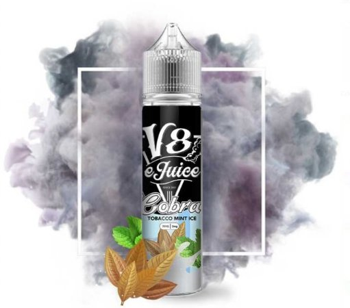 Líquido V8 E-Juice - Tobacco Mint Ice - Cobra