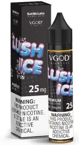 Líquido Salt Nicotine VGOD - Lush Ice ( Ice Watermelon )