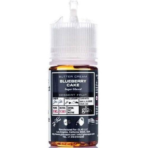 Líquido Glas salt nicotine - Blueberry Cake