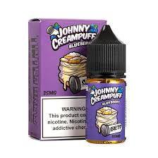 Líquido Nic Salt Johnny Creampuff - Blueberry