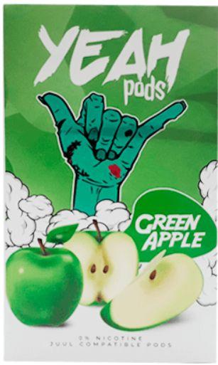 Yeah Pods De Reposição Green Apple - Compatíveis com Juul - Yeah