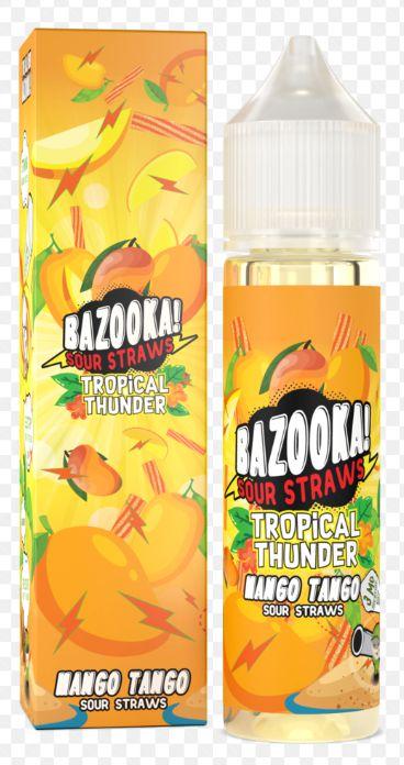 Líquido Bazooka! Sour Straws - Mango Tango