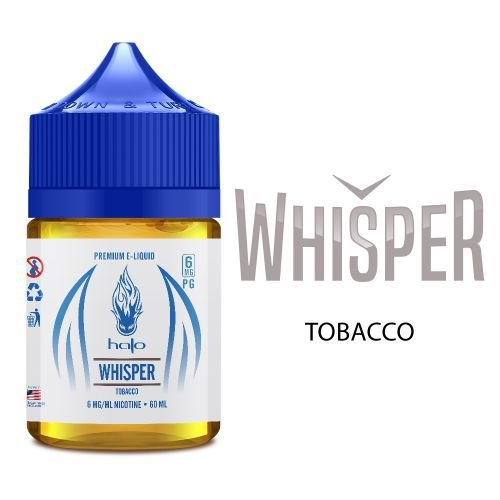 Líquido Halo - Whisper (Sweet Tobacco)