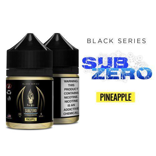 Líquido Halo - Black Series - Subzero Pineapple (X strength menthol)