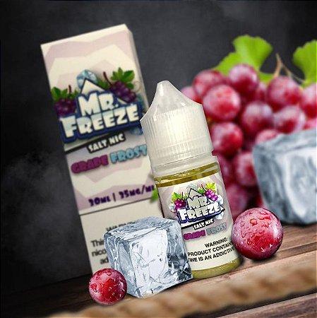 Líquido Salt Nicotine - Mr. Freeze - Grape Frost
