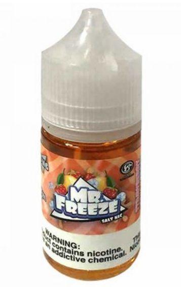 Líquido Salt Nicotine - Mr. Freeze - Strawberry Mango Frost