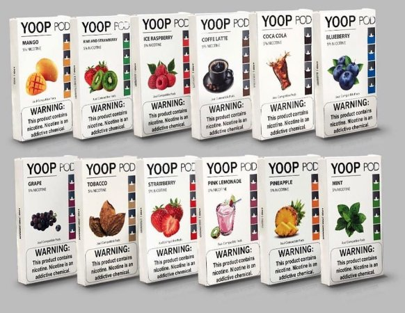 Yoop Pods Banana Cream Custard - Compatíveis com Juul - Yoop Vapor