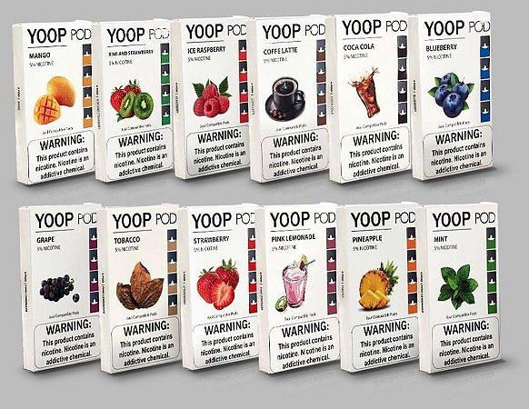 Yoop Pods Candy Fruit - Compatíveis com Juul - Yoop Vapor