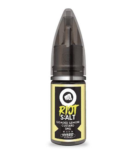 Líquido Riot Nic Salt - Loaded Lemon Custard