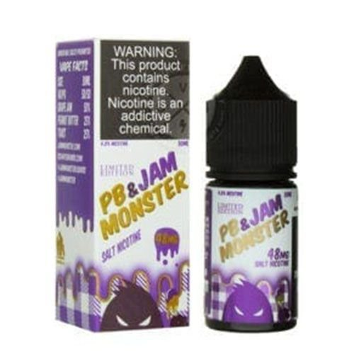 Líquido Nic Salt Jam Monster - Grape Salt (Limited Edition)