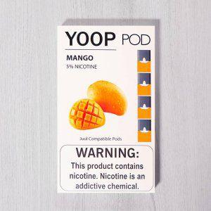 Yoop Pods Mango  - Compatíveis com Juul - Yoop Vapor