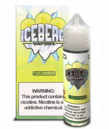 Líquido Iceberg Vapors Salt  -  Cucumber