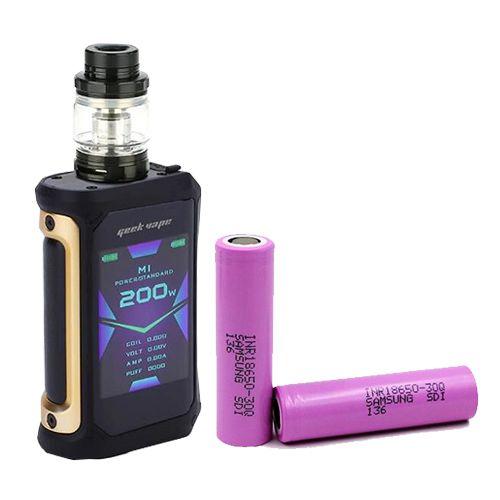 Combo Aegis X 200W  + 2 Baterias 18650